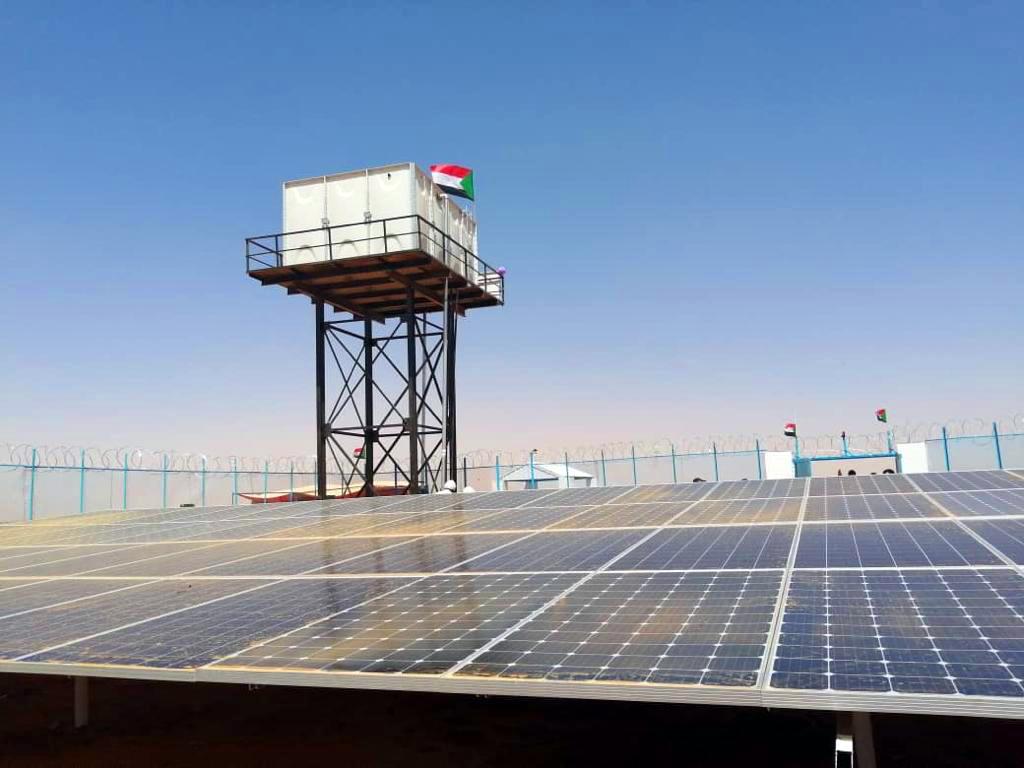 Sudan 72 adet Askeri Birlik Su Depoları İşi Tamamlandı.