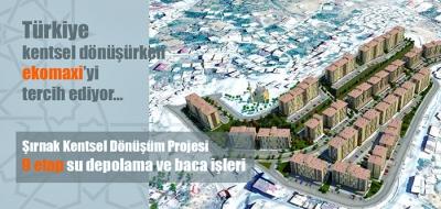 Türkiye kentsel dönüşümde ekomaxiyi tercih ediyor.