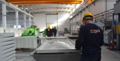 BS Standartlarında GRP Panel üretimi başladı.