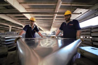 AISI (304-316) çelik depo üretimi 2