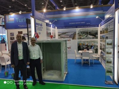 Dubai The Big 5 Building fuarını geride bıraktık.