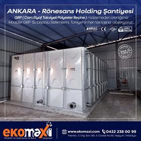 Ankara Rönesans Holding Şantiye Deposu