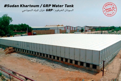 Sudan - Hartum 1000 M3 GRP Su Deposu İşi