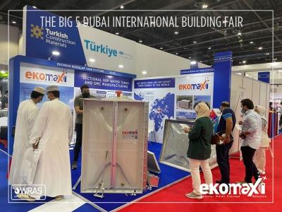 Dubai The Big 5 Construction Show 2021'e katıldık.
