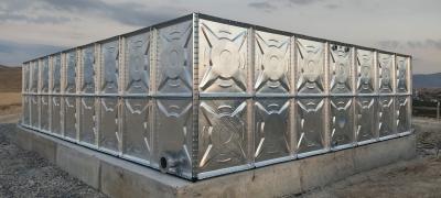 Maxam Anadolu Patlayıcı A.Ş. 158  Ton Galvaniz Su Deposu