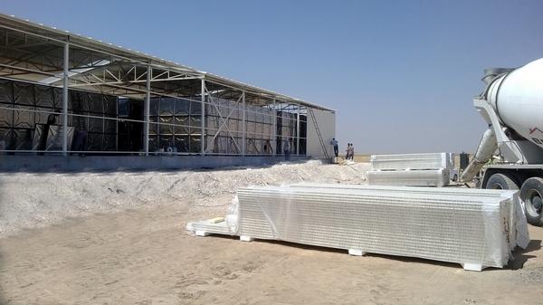 Kuzey Irak DUHOK Kampına 1200 tonluk su deposu