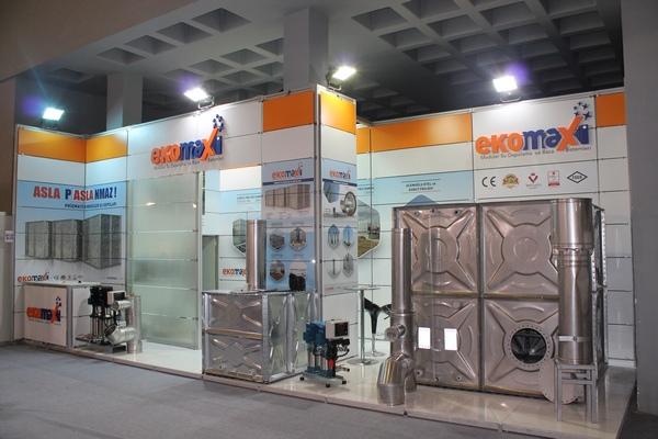Ekomaxi ISK – SODEX 2014 Fuarında.